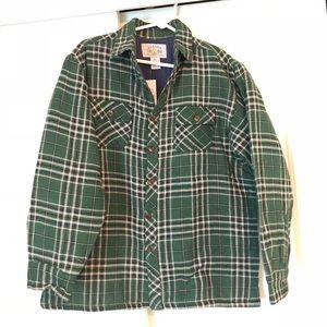 NWT Alaska Wilderness Men's Shirt Jacket - M